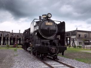 蒸気機関車の素材 [FYI00302710]