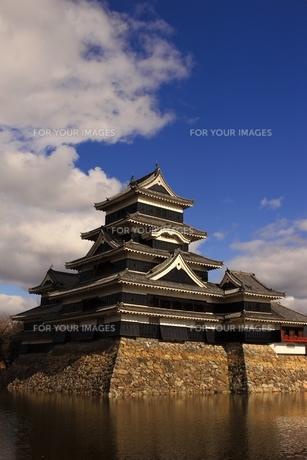 松本城の写真素材 [FYI00302800]