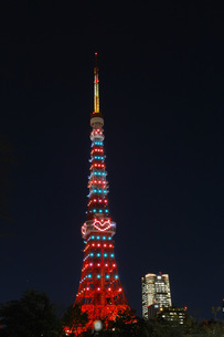東京タワーハートの写真素材 [FYI00302810]