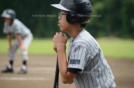 少年野球の選手の素材 [FYI00302922]