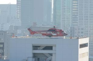 救急用ヘリコプターの写真素材 [FYI00302923]
