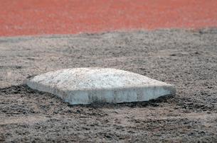 野球のベースの写真素材 [FYI00302924]