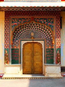インドの扉の写真素材 [FYI00303207]