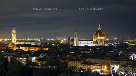 フィレンツェの夜景の素材 [FYI00303262]