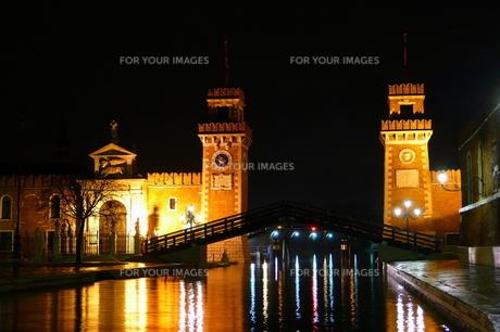 ベネチアの橋の素材 [FYI00303275]