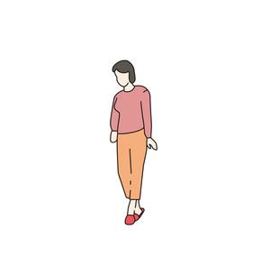少女の立ち姿の写真素材 [FYI00303290]