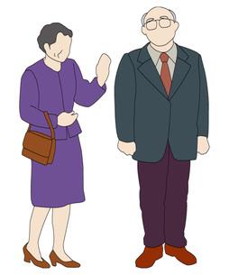 老夫婦の素材 [FYI00303308]