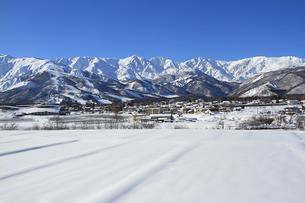 冬の白馬村2の写真素材 [FYI00303309]