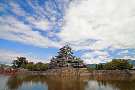 初夏の松本城の写真素材 [FYI00303328]