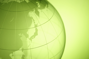 ガラスの地球儀の写真素材 [FYI00303610]