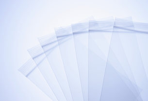 ビニールのジッパー袋の写真素材 [FYI00303641]