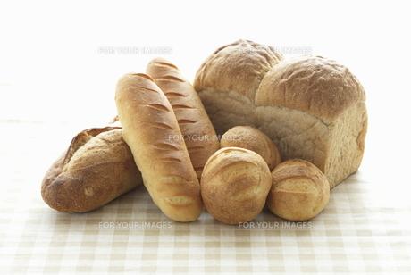 沢山のパンの写真素材 [FYI00303642]