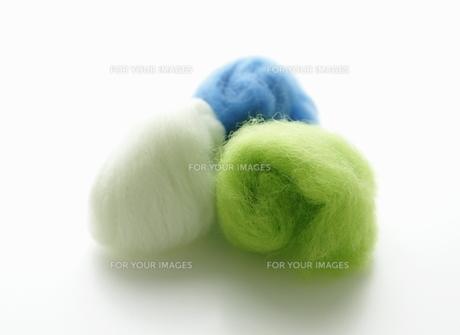 羊毛フェルトの写真素材 [FYI00303657]