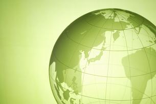 地球儀のアジアの写真素材 [FYI00303899]