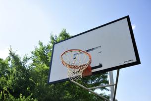 バスケットゴールの写真素材 [FYI00304764]