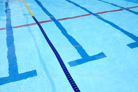 競技用プールの写真素材 [FYI00304802]