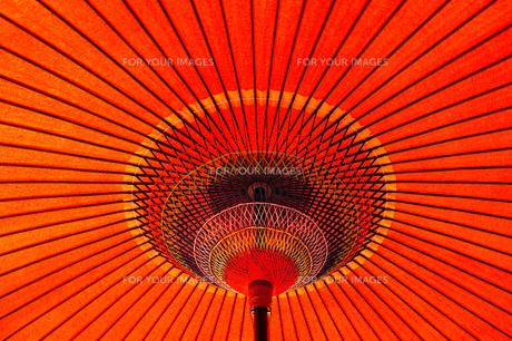 赤い野点傘3の素材 [FYI00305002]