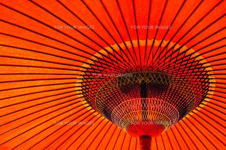 赤い野点傘1の素材 [FYI00305006]