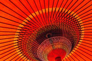 赤い野点傘4の素材 [FYI00305025]