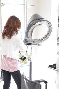 美容師と美容室の写真素材 [FYI00307593]