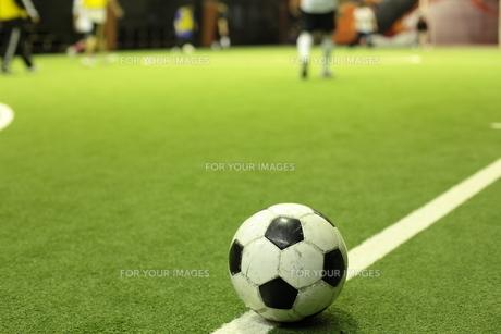 フットサルのボールの写真素材 [FYI00307635]