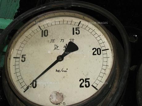 D51の圧力計の写真素材 [FYI00307856]