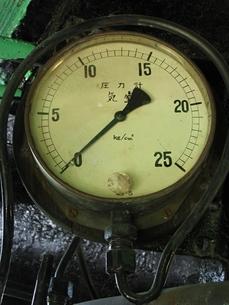D51の圧力計の写真素材 [FYI00307862]