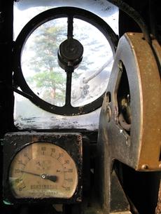 D51の運転席の写真素材 [FYI00307869]