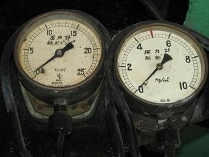 D51の圧力計の写真素材 [FYI00307886]