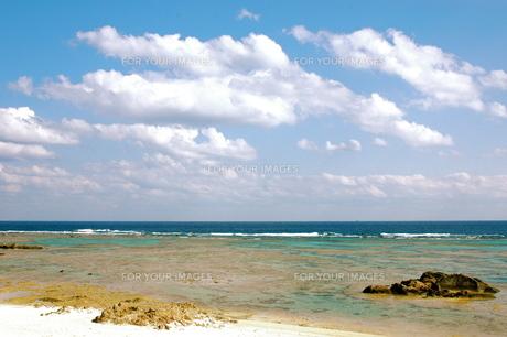 奄美大島の海の写真素材 [FYI00307959]