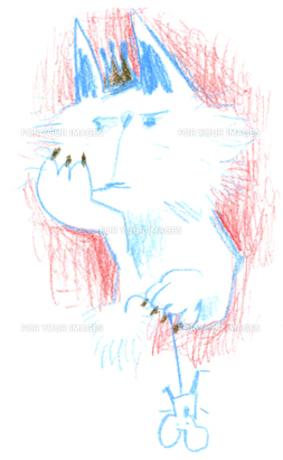 王様ネコの写真素材 [FYI00308003]