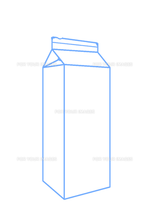 牛乳パックの写真素材 [FYI00308017]