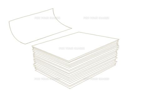 紙の山の素材 [FYI00308054]