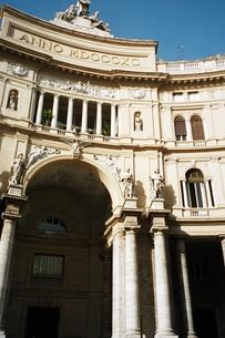 イタリアナポリのモールの写真素材 [FYI00308111]