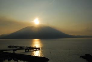 桜島の写真素材 [FYI00308192]
