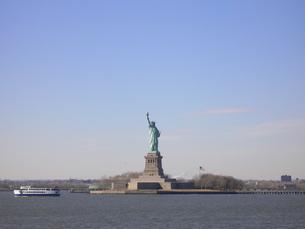 ニューヨークの自由の女神の写真素材 [FYI00308497]