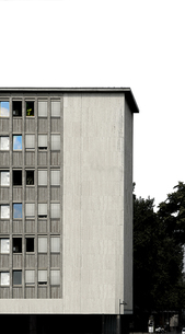 ドイツ集合住宅の写真素材 [FYI00308499]