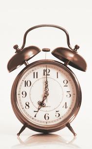 目覚まし時計の写真素材 [FYI00308562]