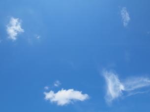 青空と雲の写真素材 [FYI00308573]