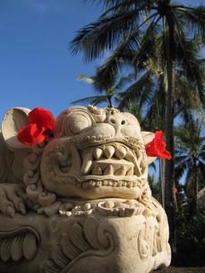 バリ島の石像の写真素材 [FYI00308614]