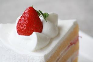 いちごケーキの写真素材 [FYI00308637]