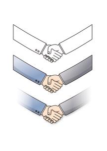 握手の写真素材 [FYI00308680]