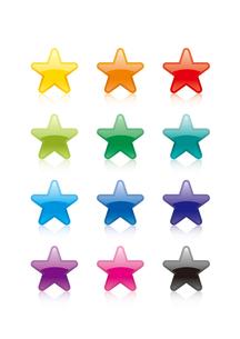 星マークのイラストの写真素材 [FYI00308685]