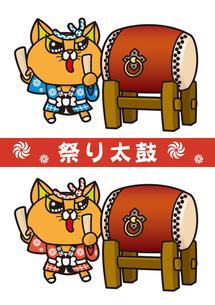 祭り太鼓の写真素材 [FYI00308687]