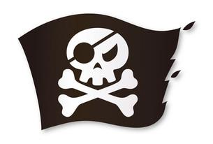 海賊の旗の写真素材 [FYI00308690]
