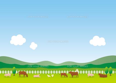 農場の素材 [FYI00308714]