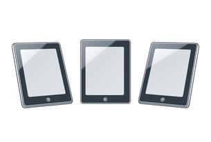 タブレット型モバイル端末の写真素材 [FYI00308716]