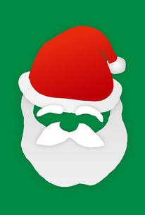 サンタクロースの帽子と髭の素材 [FYI00308722]