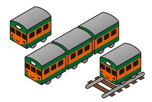 電車の素材 [FYI00308725]