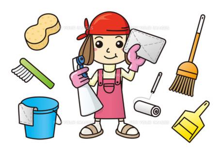 大掃除する主婦の写真素材 [FYI00308746]